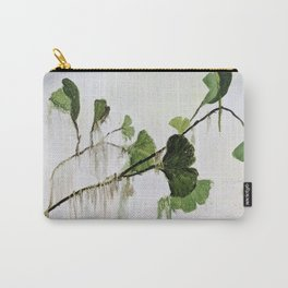 Distressed Verdant Carry-All Pouch