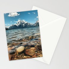 Crystal Clear Jackson Lake in Grand Teton Stationery Cards