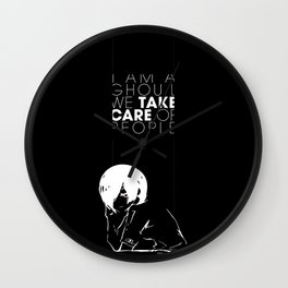 I am a Ghoul  Wall Clock