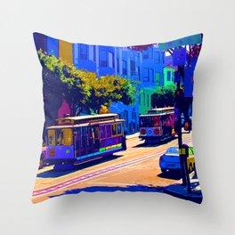 San Francisco 002 Throw Pillow