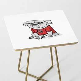 Bulldog from Georgia Side Table