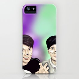 Dan and Phil iPhone Case