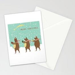Bears as Three Kings Stationery Cards