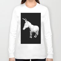 donkey Long Sleeve T-shirts featuring donkey by Mark Kovalchuk