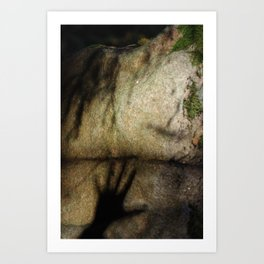 Touching The Nature Art Print