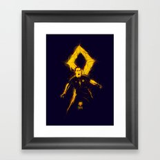 Falcao Framed Art Print