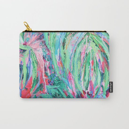 Tropical Canopy Carry-All Pouch