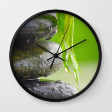 Wellness Stones Wall Clock