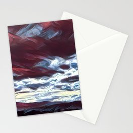 Dreaming mountains Stationery Cards