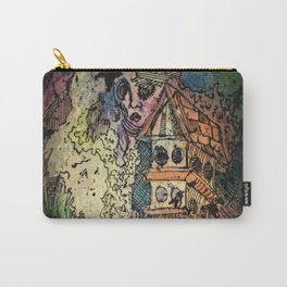 Bird House and Muses Carry-All Pouch