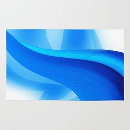 Blue Design Rug