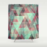 woods Shower Curtains featuring Woods by Hope