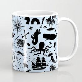 High Seas Adventure // Light Blue Coffee Mug