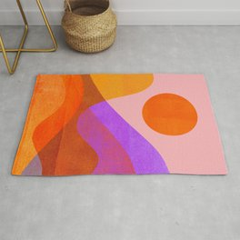 Abstraction_OCEAN_Beach_Wave_Minimalism_001 Rug