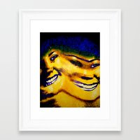 sister Framed Art Prints featuring Sister by Serena Gailey