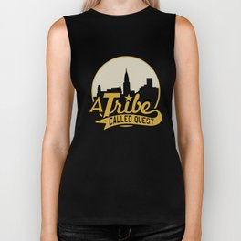 A Tribe Called Quest City Skyline Atcq Hip-Hop Rap Native Tongues Hip Hop T-Shirts Biker Tank