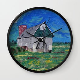 The Old Barn Wall Clock