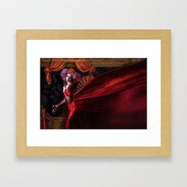 Madame Carnival Framed Art Print