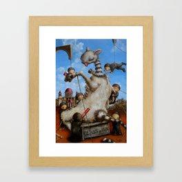 new american mythology Framed Art Print