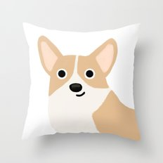 Corgi - Cute Dog Series Throw Pillow