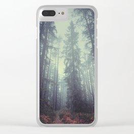 The magic trails Clear iPhone Case
