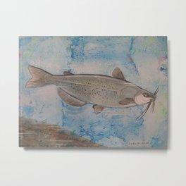 """Manitoba's Channel Catfish"" Metal Print"