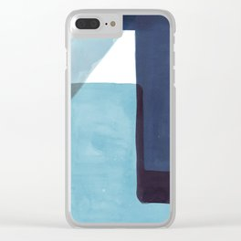 Tetra in Blue Clear iPhone Case