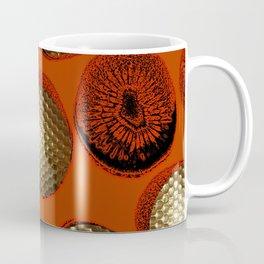 ORANGE RED GOLD Coffee Mug