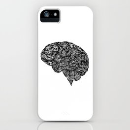 Abstract Brain iPhone Case