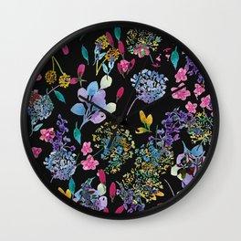 Colorburst Wall Clock