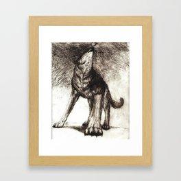canine  Framed Art Print