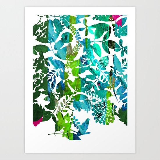 Rising Spring Art Print
