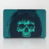 bow iPad Cases featuring Hair bow by Roland Banrevi