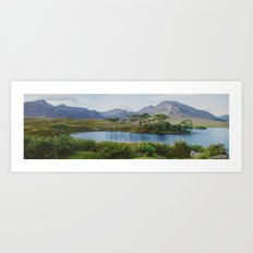 Connemara, Ireland Art Print