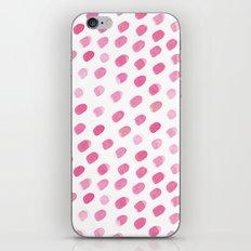 Pink ovals iPhone & iPod Skin