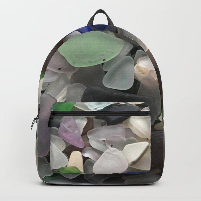 Sea Glass Assortment 1 Rucksack