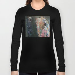 Life and Death - Gustav Klimt Long Sleeve T-shirt