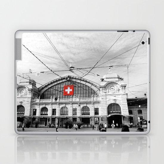 Swiss Flag Laptop & iPad Skin