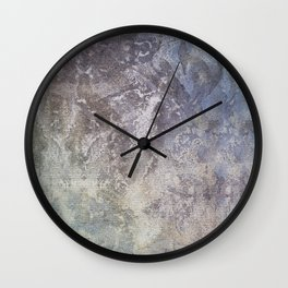 Organic Paint on canvas Wall Clock