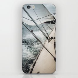 Yacht Race iPhone Skin