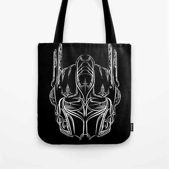 Pinstripe Prime Tote Bag