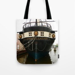 USS Constellation Detail Tote Bag