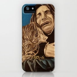 Severus and Lily, oil painting iPhone Case