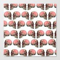 anatomy Canvas Prints featuring Anatomy by Lolita Stein