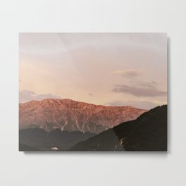 Pink Sunset | Nature and Landscape Photography Metal Print