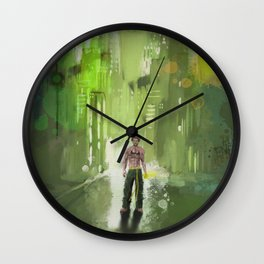 Danny Rand Wall Clock