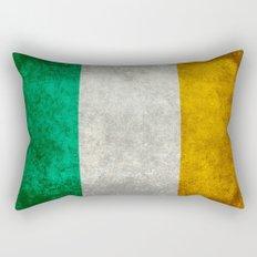 Flag of Ireland - Vintage retro style Rectangular Pillow