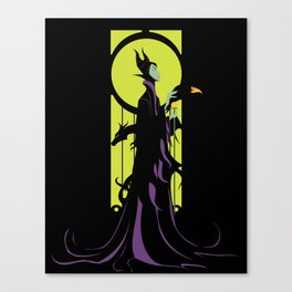 Magnificent Maleficent Canvas Print
