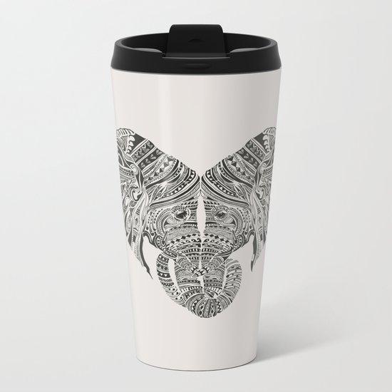 Huge Heart Metal Travel Mug