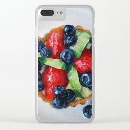Grocery Store Tart II Clear iPhone Case